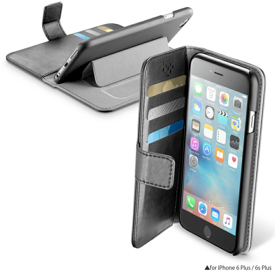 スタンド型アイフォン6sプラスケース