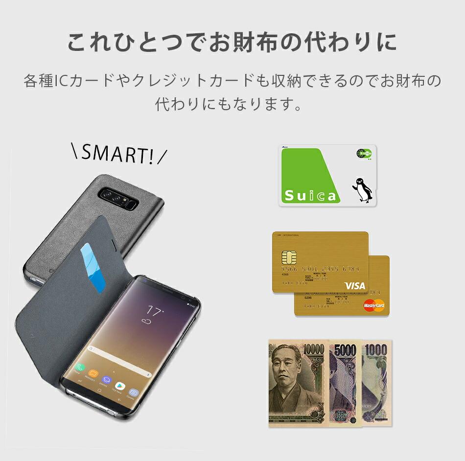 各種ICカードやクレジットカードも収納。必要なものはこれに全て入ります。