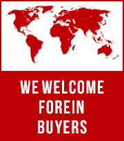 We welcome forein buyers