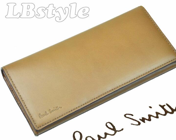 0685ceb4c7b4 Paul Smith 【ポールスミス】のオールドレザー牛革の長財布です。 色・柄・素材などポール・スミスらしい遊び心が感じられるデザインです。