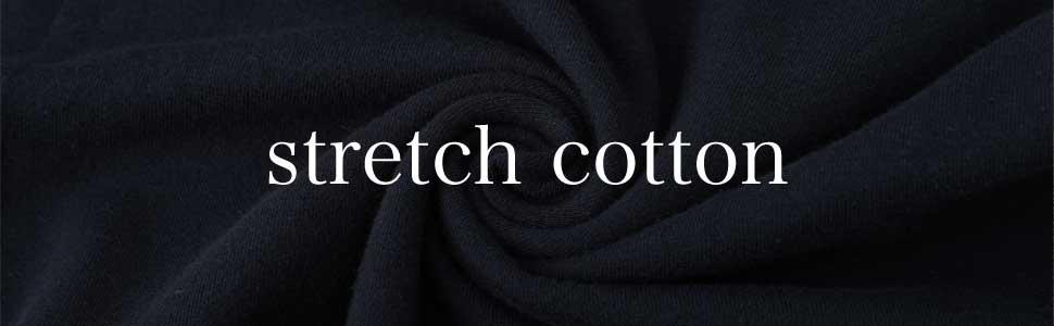 綿 コットン ストレッチ 伸縮性 cotton COTTON