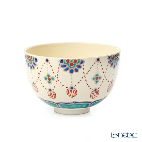 京焼・清水焼 抹茶碗 S0044 瓔珞紋 480ml