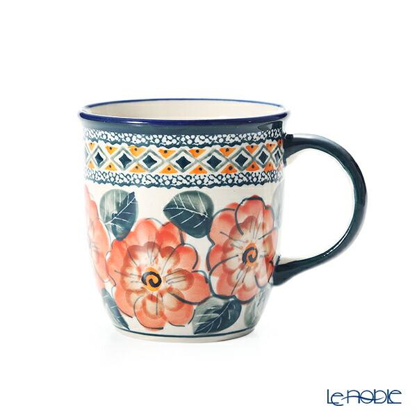 ポーリッシュポタリー(ポーランド陶器) ボレスワヴィエツ マグカップ 350ml/9.7cm 1105/ART-124 アートコレクション