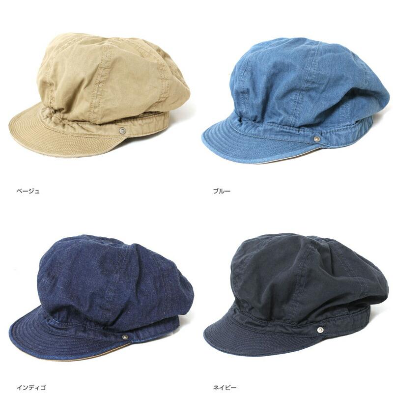 DECHO デコー バイカーズキャップ D-02 BIKERS CAP D-2 帽子 キャスケット ハンチング