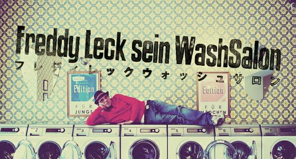 FREDDY LECK sein Wash salon
