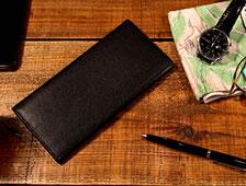 かぶせ付き長財布