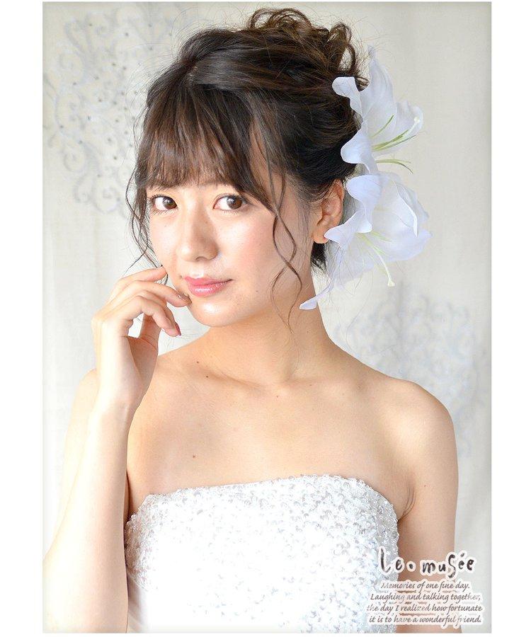 【ヘッドドレス(髪飾り)】カサブランカ 2りん