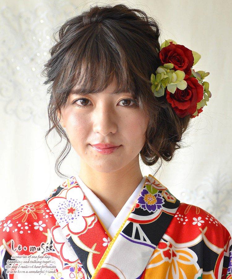 髪飾り【花】立夏(りっか)