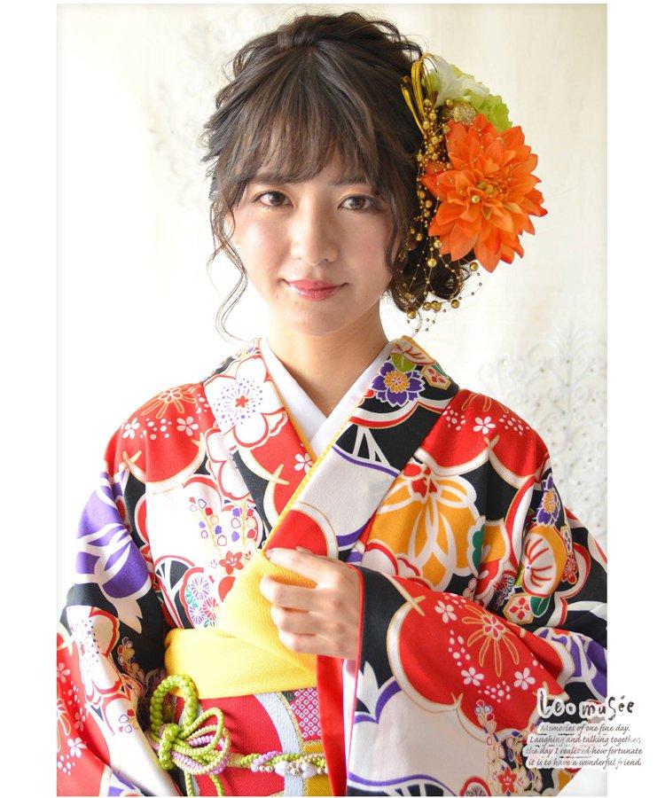 和装髪飾り【花】早乙女(さおとめ)