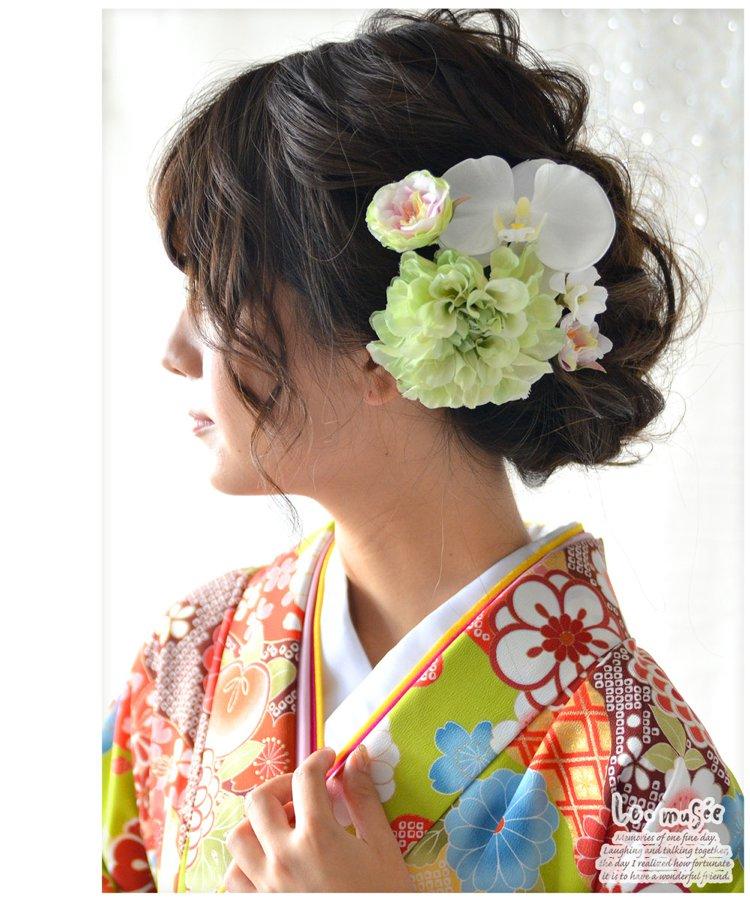 髪飾り【花】若菜
