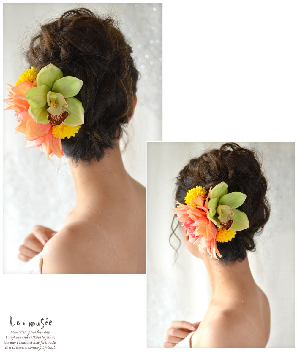 髪飾り【花】灯華ともか