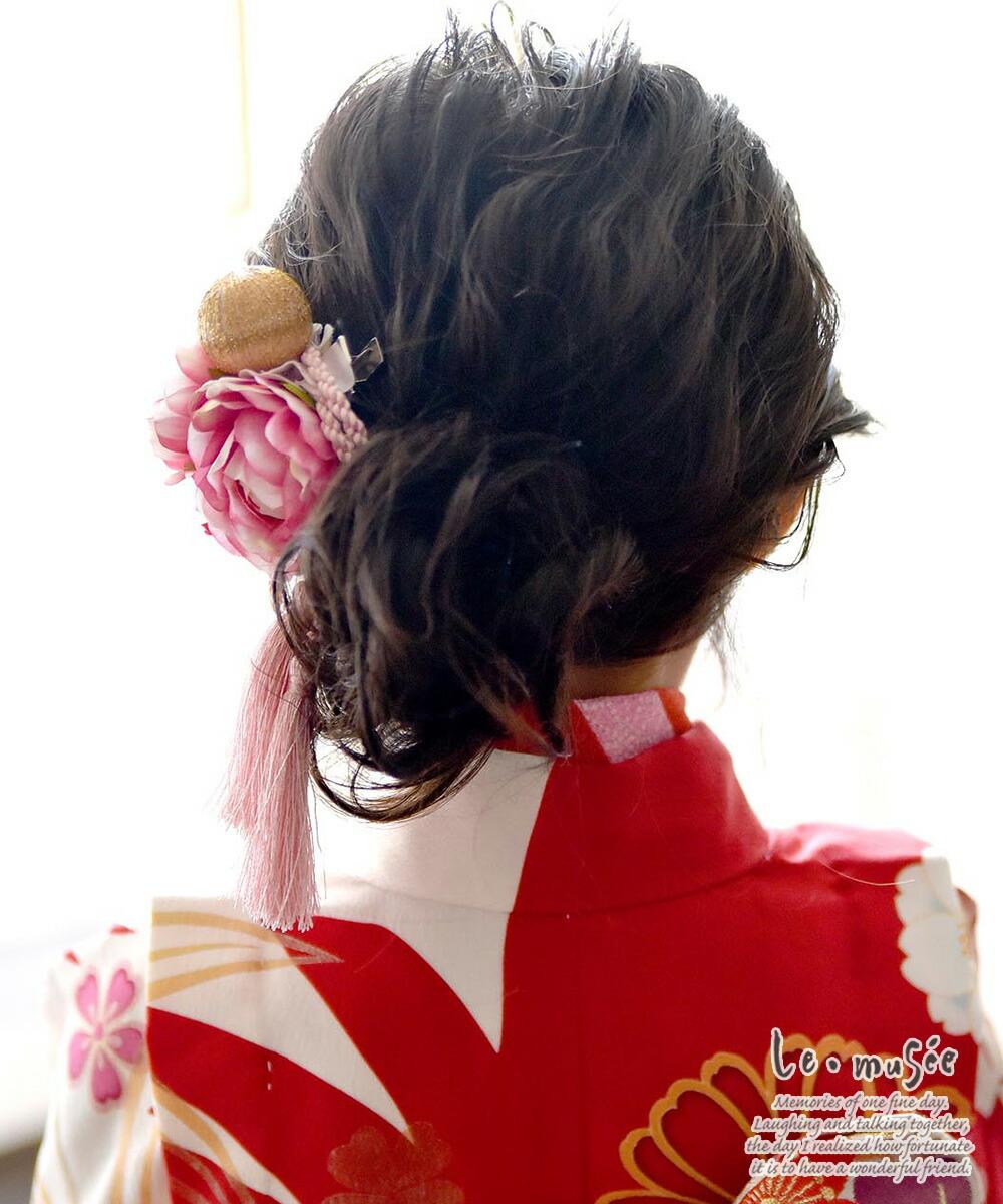 七五三髪飾り 鞠まり