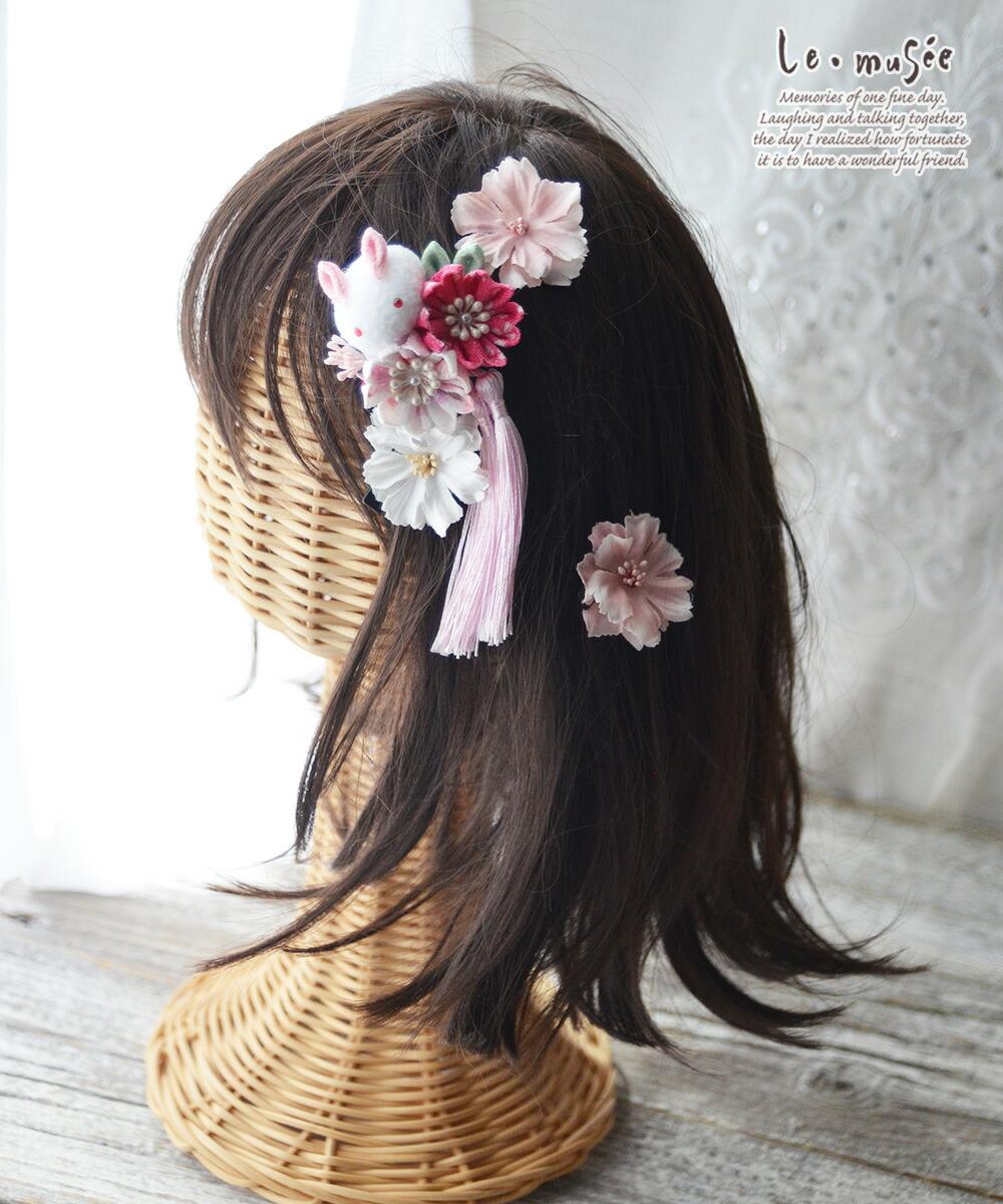 七五三髪飾り プティラパン