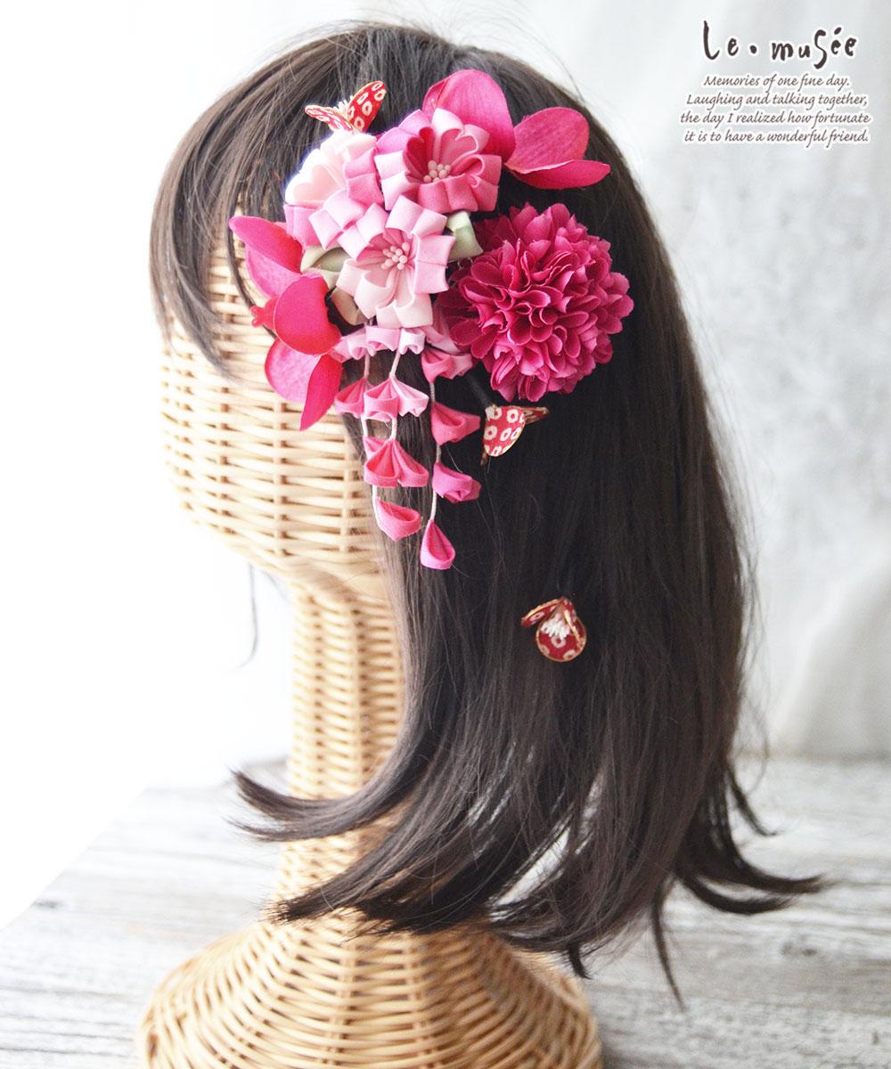 七五三髪飾り 万華鏡