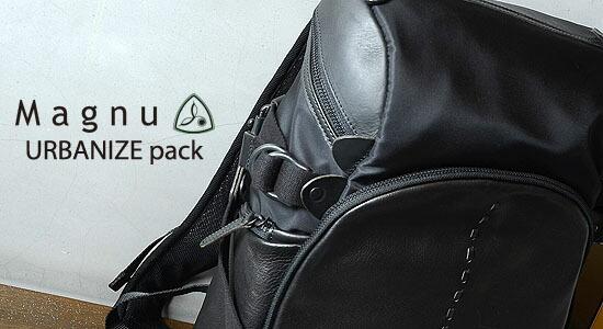 マヌー(Magnu)URBANIZE pack (アーバナイズパック)
