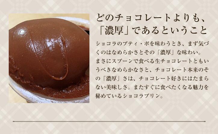 どのチョコレートよりも濃厚であるということ