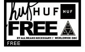 HUF(ハフ)フリー