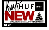 HUF(ハフ)新商品