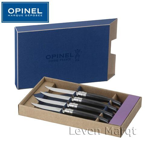 テーブルナイフ エボニー Ebony 4本セット  オピネル OPINEL