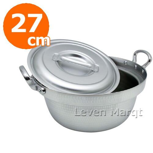 和・中華セイロ用アルミ鍋(蓋つき)27cm用 (IH非対応)