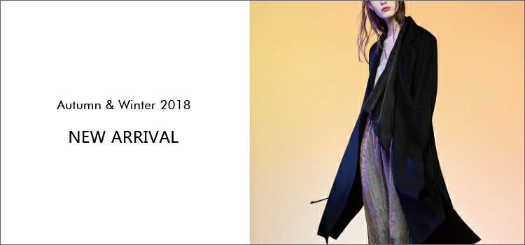 2018AW NEW ARRIVAL