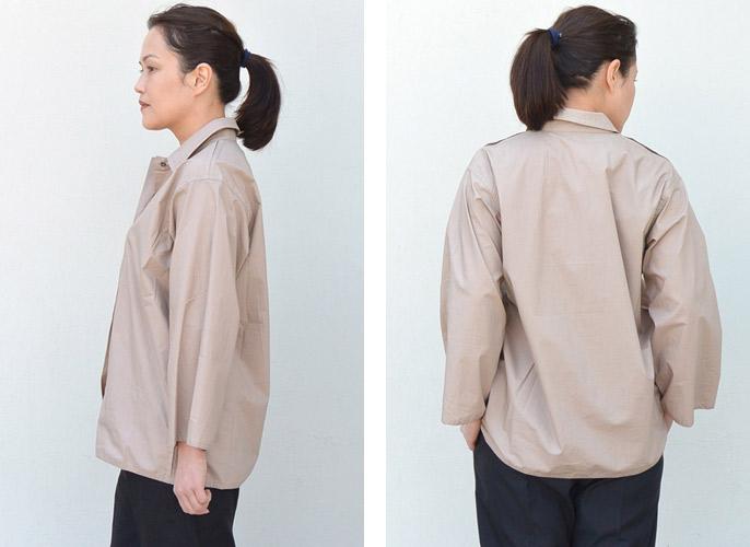 SOFIE D'HOORE(ソフィードール) コットンポプリンシャツ【全4色】