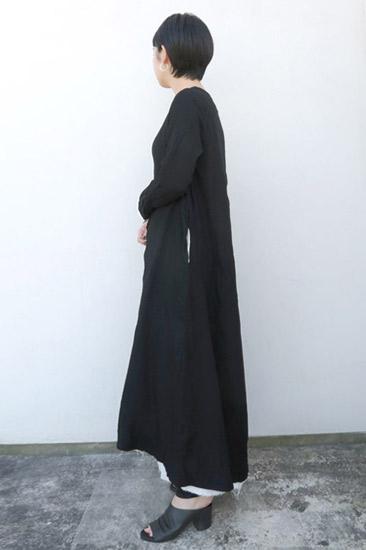 KristenseN DU NORD(クリステンセンドゥノルド)  ウールコットンワンピース