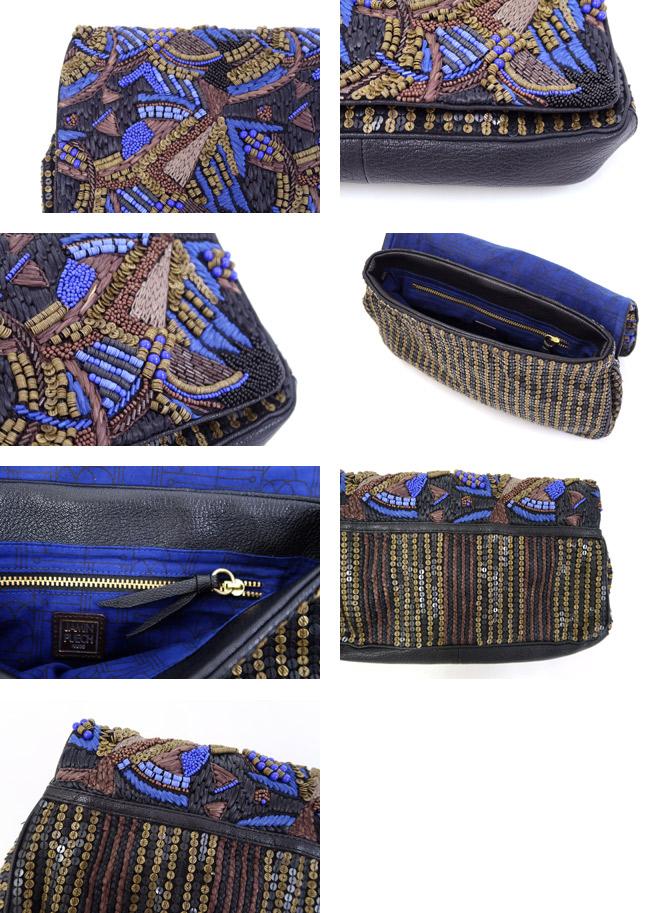 JAMIN PUECH(ジャマンピュエッシュ) 3WAY ビーズ刺繍バッグ