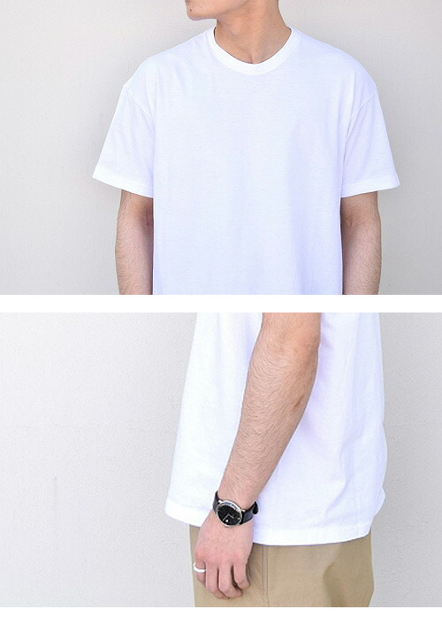AURALEE(  オーラリー ) SEAMLESS CREW NECK TEE (MENS) 【全4色】