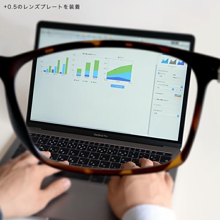 老眼鏡 アイウェアエア パソコン