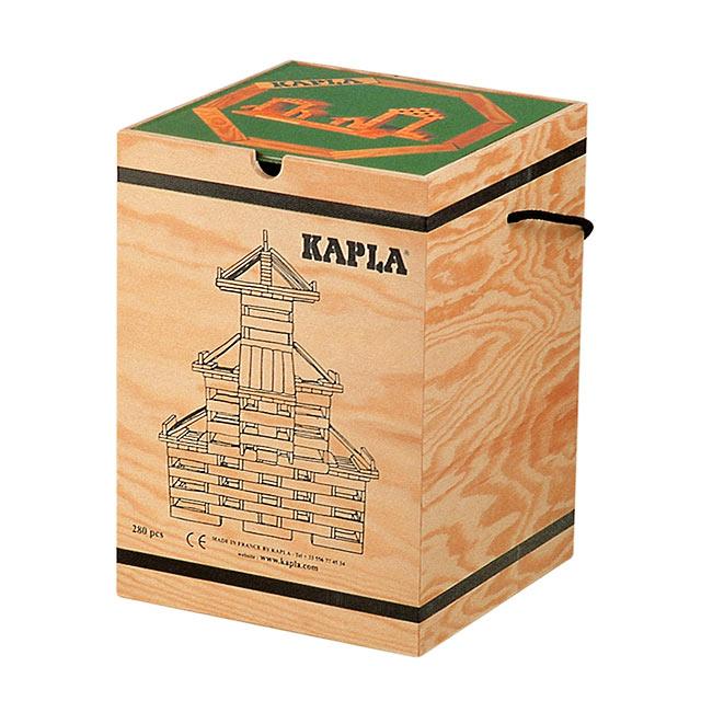 KAPLA カプラ ブロック280 アートブック付 初級緑