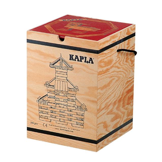 KAPLA カプラ ブロック280 アートブック付 中級赤