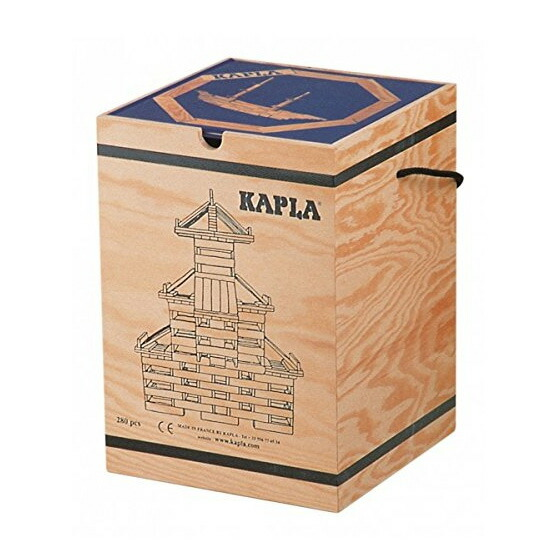 KAPLA カプラ ブロック280 アートブック付 上級青