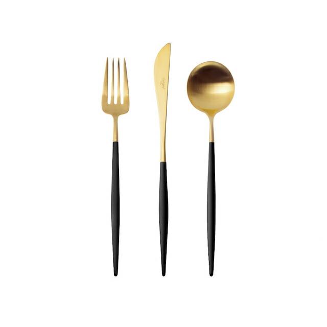 クチポールGOAゴアディナーブラック&ゴールド