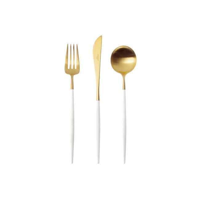 クチポールGOAゴアデザートホワイト&ゴールド