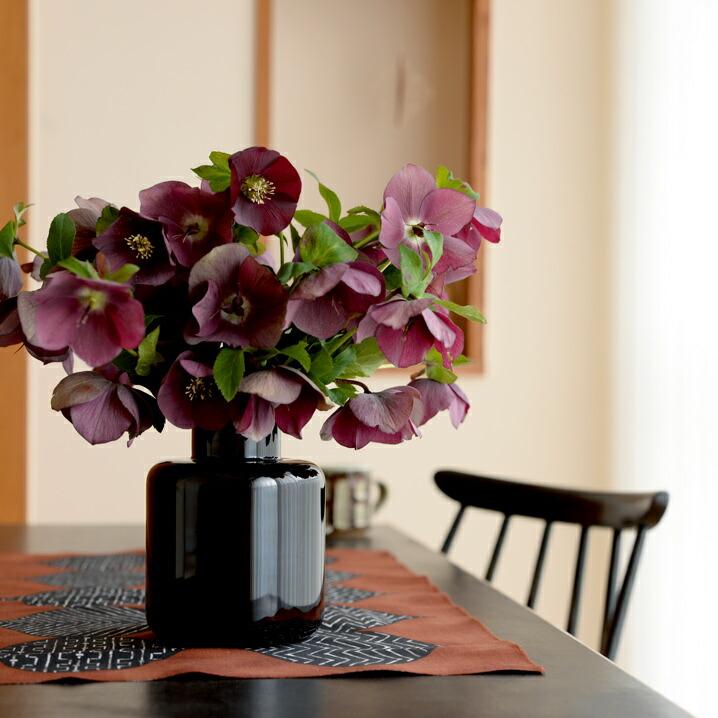 スクルーフSKRUFPONNYベース9877花瓶フラワーベースクリア北欧スウェーデン手吹きガラス