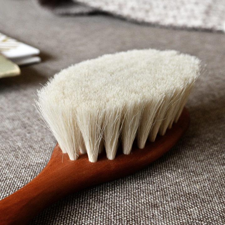 レデッカー チルドレン ベビーブラシ 山羊毛 ヘアブラシ