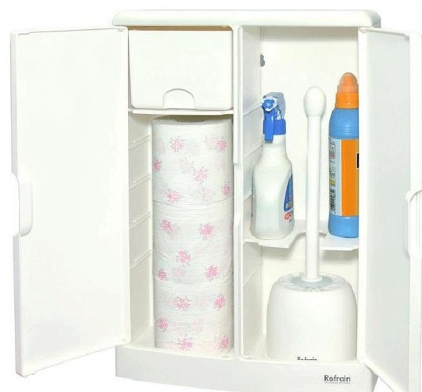 The Storage Image Does Not Include Toilet Paper Detergent And Brush