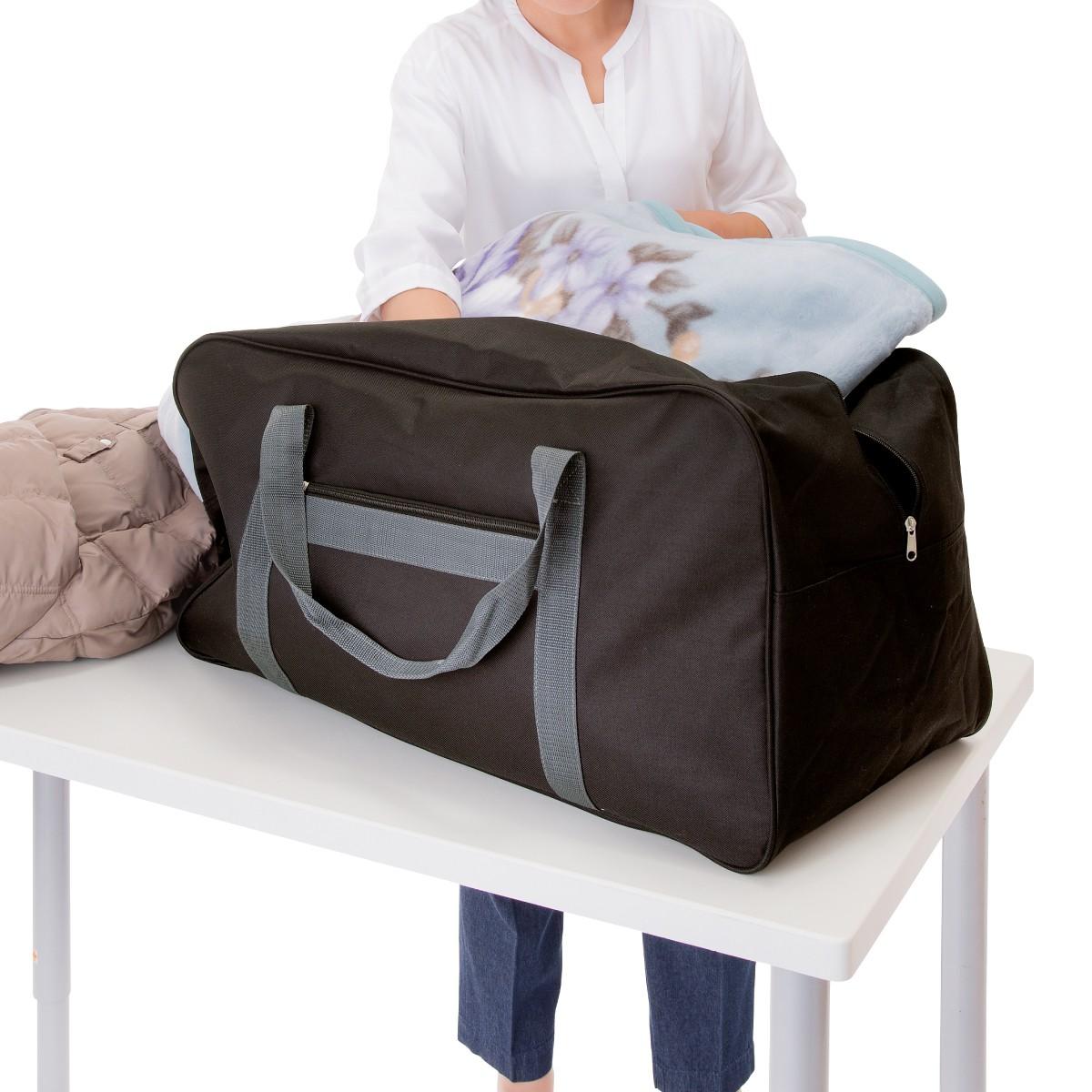 ボストンバッグ 旅行 大容量 アウトドア でっかいバッグ 1-046-901