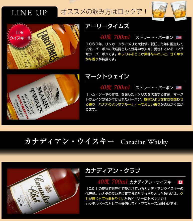 ウイスキー6本セット