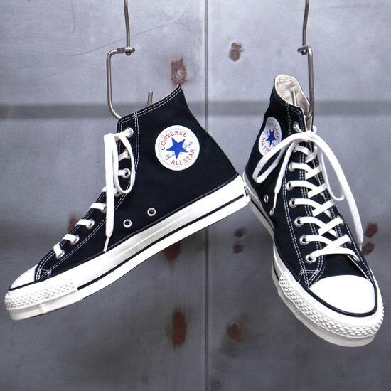 CONVERSE ALL STAR LIGHT HI Black Limited Chuck Taylor Japan