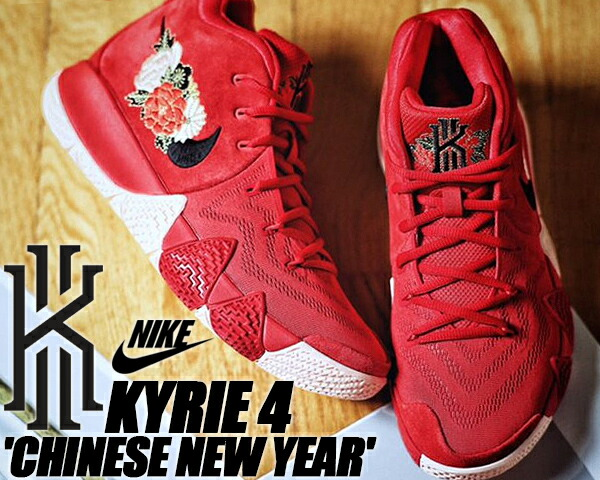 new concept bd963 b0b07 NIKE KYRIE 4 EP university red black  ナイキ カイリー 4 CNY 中国 Chinese New Year  旧正月