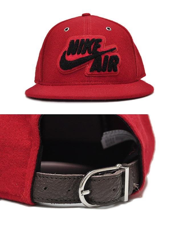 NIKE AIR WOOL CAP red  ナイキ アパレル CAP 帽子 キャップ 赤 レッド エア ウール キャップ  ebbc337aa34