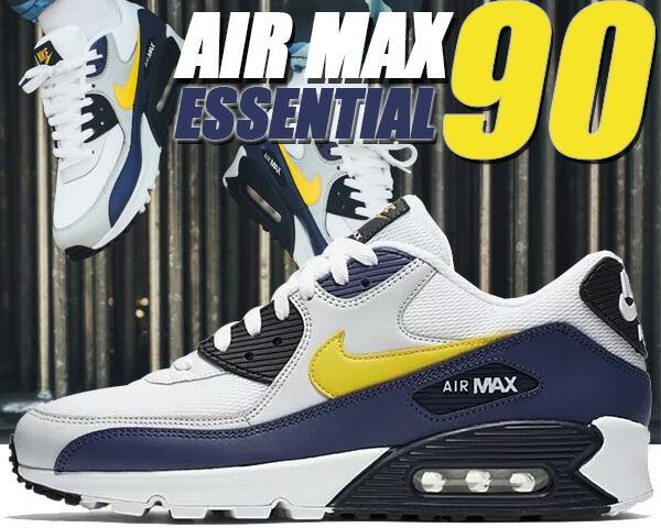 newest collection 6f327 f6b3d NIKE スニーカー AIR JORDAN MAX 90 ESSENTIAL white ナイキ tour yellow-blue  recall ナイキ エアマックス 90 エッセンシャル スニーカー メンズ エア マックス 90 ...
