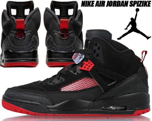 pretty nice 30058 b454e NIKE JORDAN SPIZIKE black/gym red-anthracite 315,371-006 Nike Jordan spy  Zeke men sneakers Air Jordan spikes リースパイズイックブラックレッド