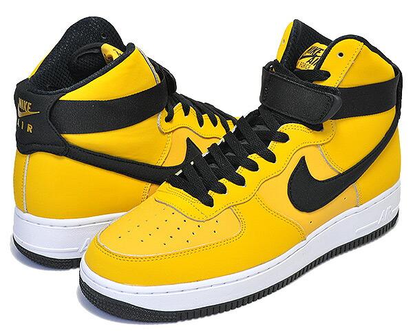 NIKE AIR FORCE 1 HIGH 07 LTHR yellow