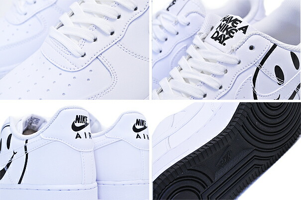 new product 8dd32 1a778 NIKE AIR FORCE 1 LV8 2(GS) Have A Nike Day white white-black av0742-100 ナイキ  エアフォース 1 ガールズ スニーカー ハブ ア ナイキ デイ ホワイト