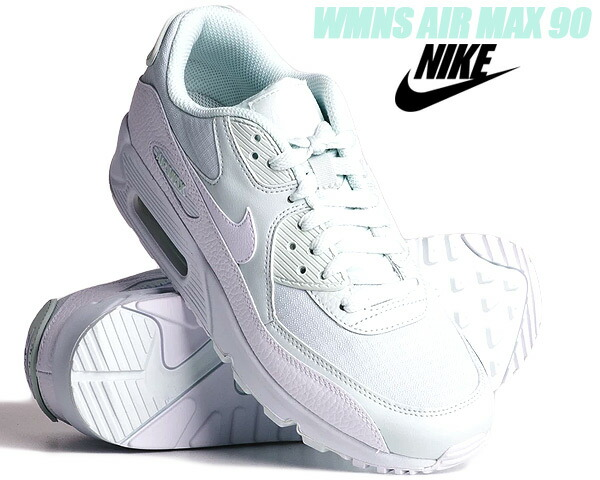 NIKE WMNS AIR MAX 90 ghost aquawhite white 325,213 419 Nike women Air Max 90 sneakers Lady's girls Air Max 90 aqua