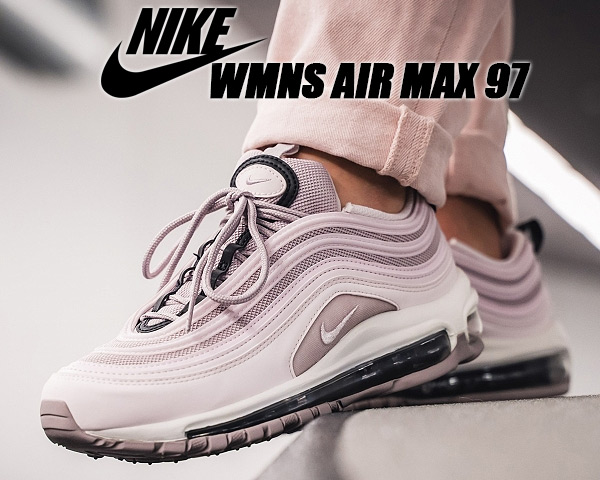 NIKE WMNS AIR MAX 97 pale pinkpale pink violet ash 921,733 602 Nike women Air Max 97 sneakers Lady's pink AIRMAX 97 Air Max