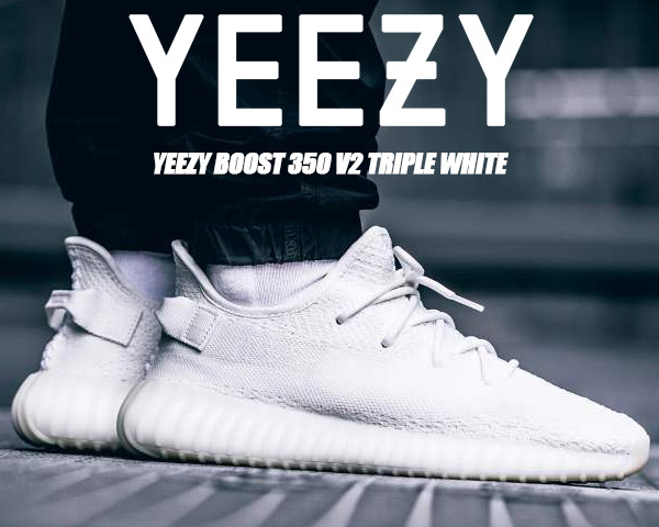 CP9366 adidas Yeezy Boost 350 V2 Triple White | KicksCrew